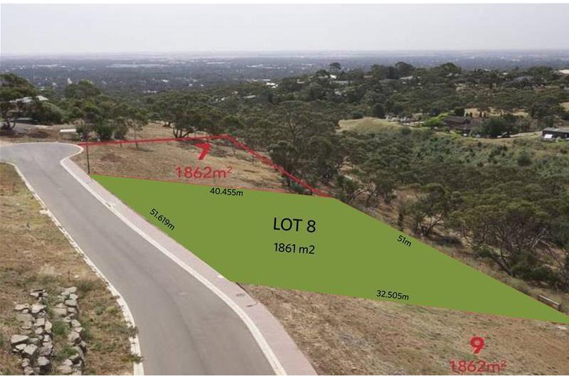 Lot 8  Peregrine Way Greenwith SA