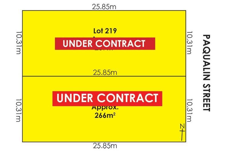 Lots/218 & 219 Paqualin Street Hendon SA