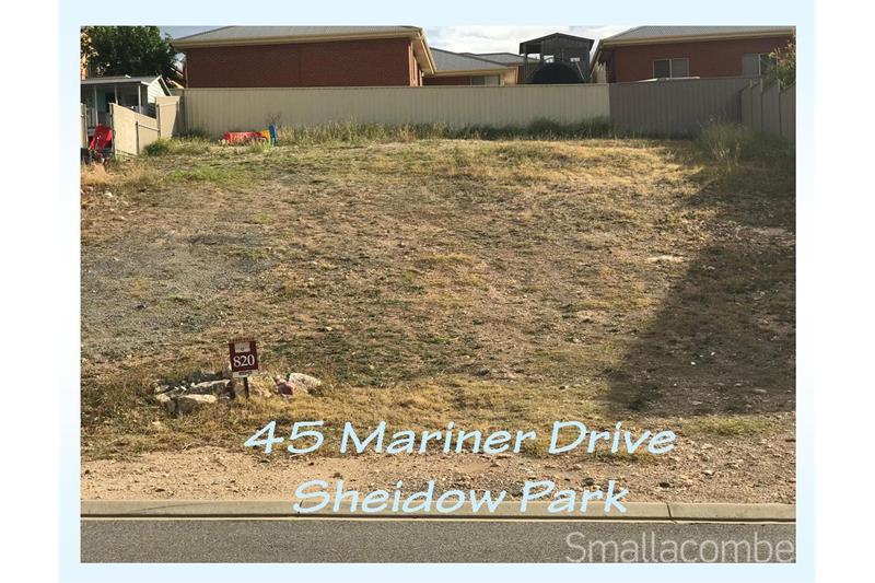 Lot 820 Mariner Drive Sheidow Park SA